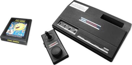 billede af gammel spillekonsol